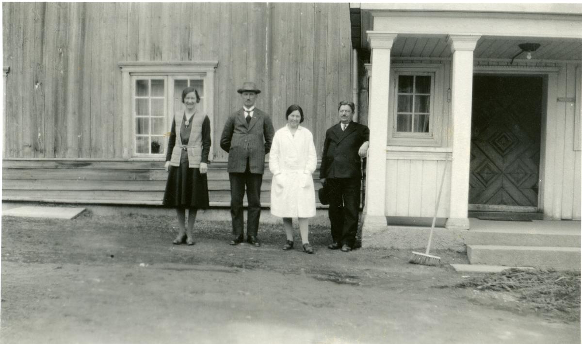 Lærere ved Vestoppland folkehøgskule.