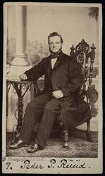 Portrett Peder P. Ruud.
