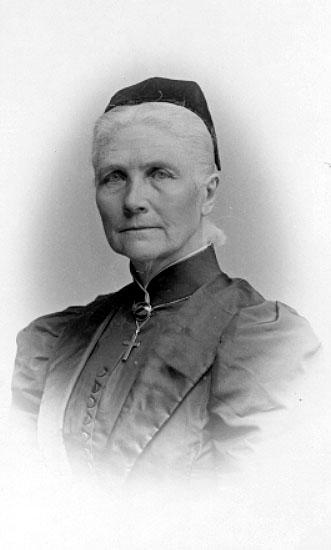 Fröken Wilhelmina Lagerholm, foto juni 1894.