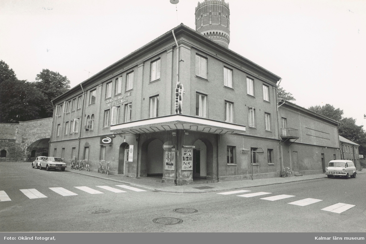 Fasad mot Larmgatan - Norra Långgatan Kvarnholmen väster om Västra Sjögatan Kvateren:Väktaren