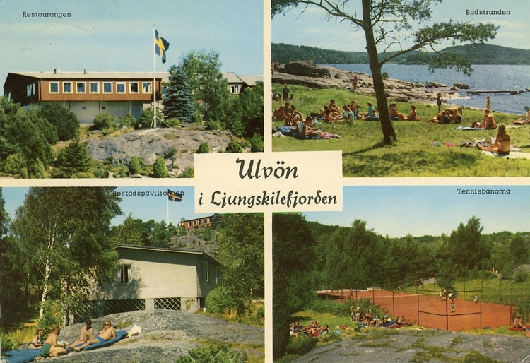 "Enligt Bengt Lundins noteringar: ""Ulvön i Ljungskilefjorden. 4-bild""."