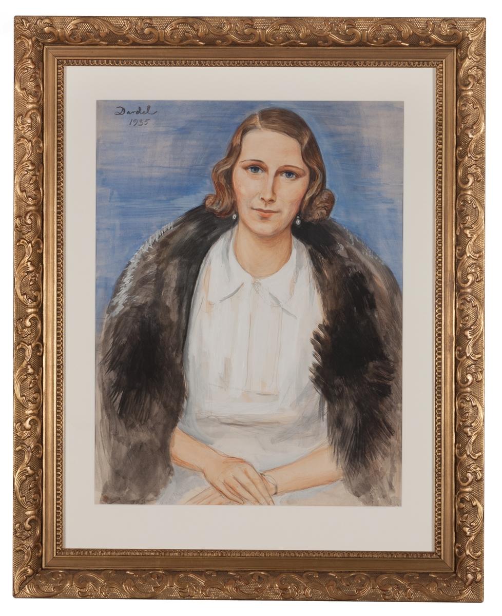 Porträtt av grevinnan Brita Wachtmeister, f. Nordenstierna