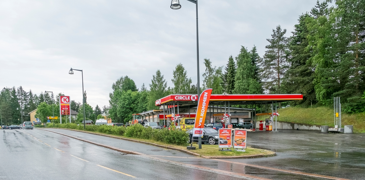 Circle K bensinstasjon Øvre Haga vei Årnes Nes