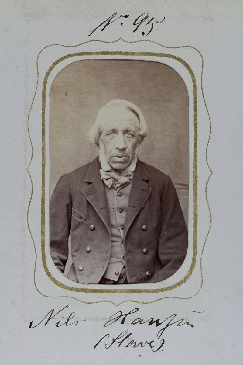 Fangeportrett, Nils Hansen