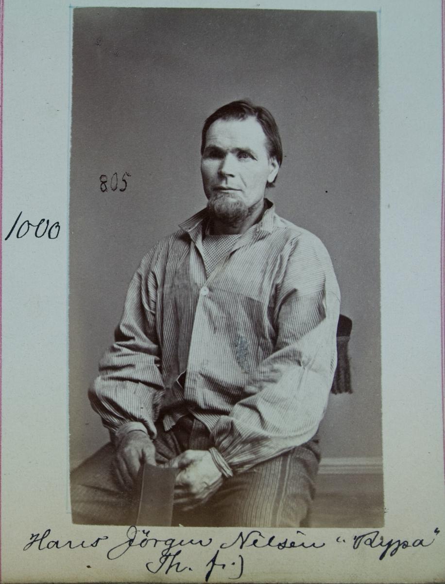 Fangeportrett, Hans Jørgen Nilsen