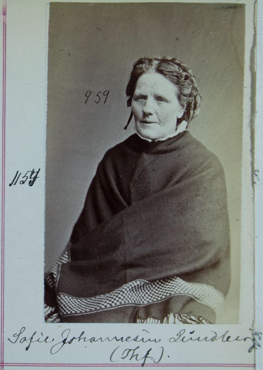 Fangeportrett, Sofie Johannesen Lundberg