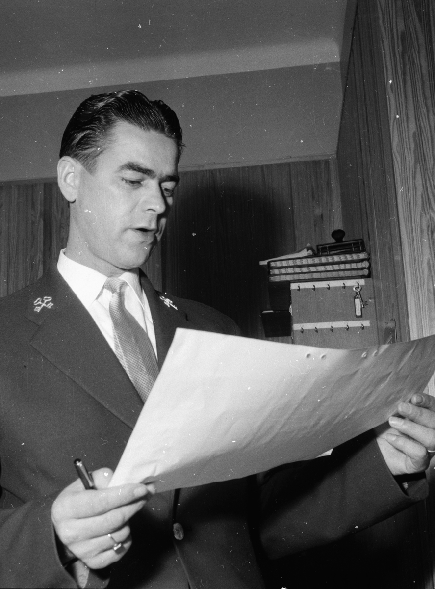 Vänliga vecka. 4/4 1958