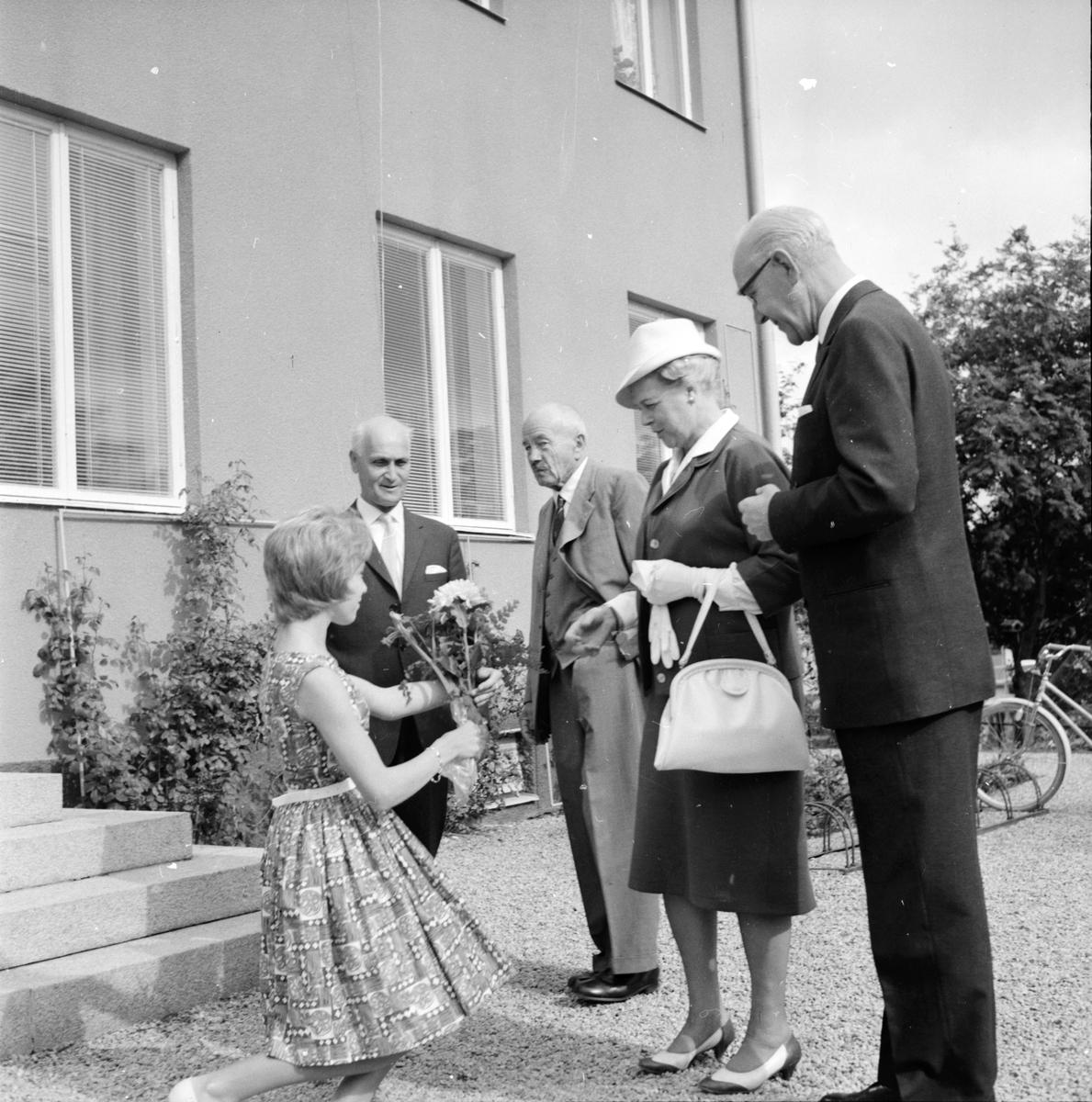 Skog, Landshövding,besök, 24 Augusti 1962