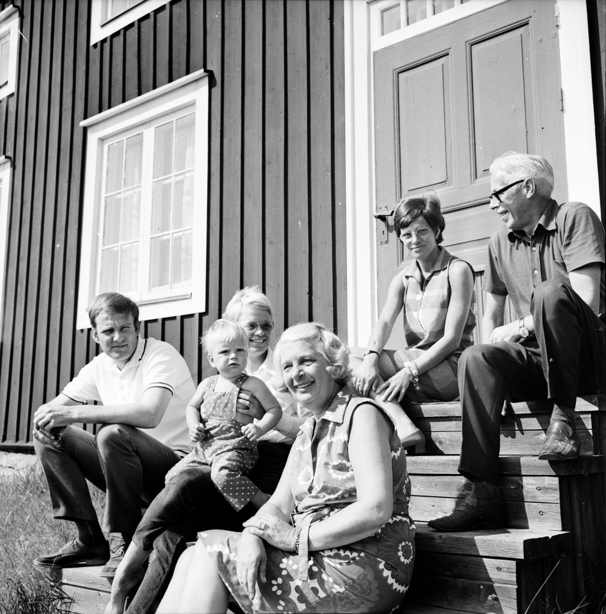 Arbrå, Familjen Michelson, Perses, 1970