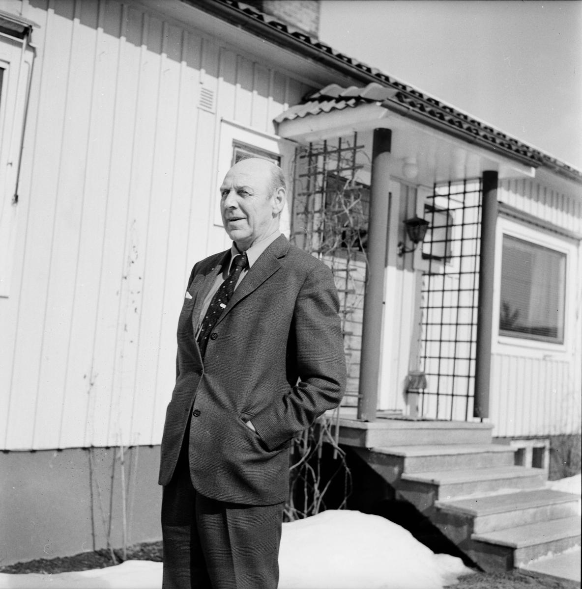 Simeå, Gustaf Carlsson, April 1972