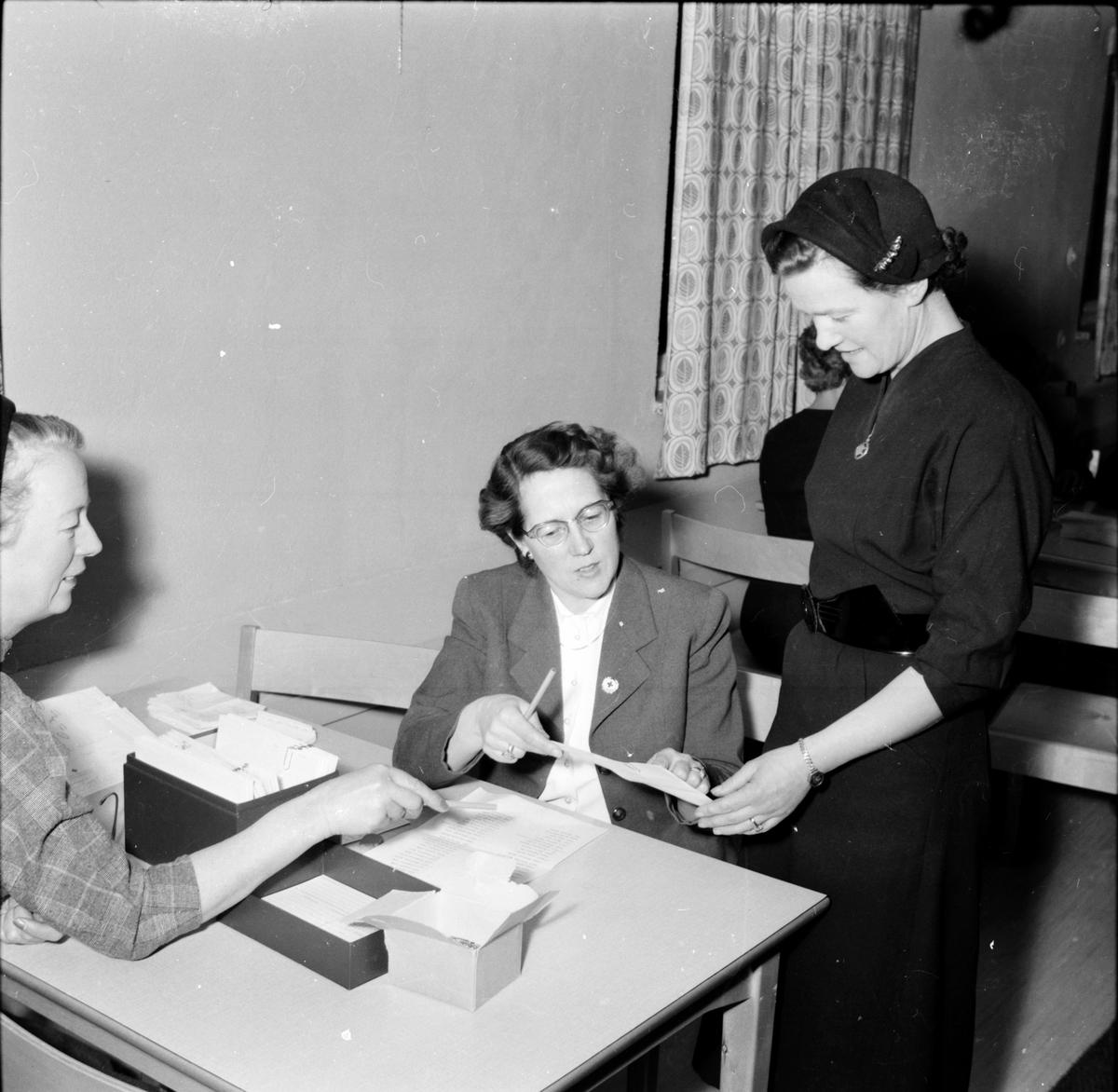 Arbrå, Blodgivare, Nov 1954