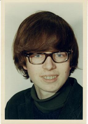 Ung gutt 1966. Foto/Photo