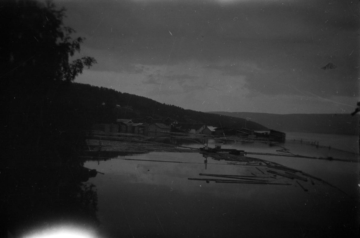 Flom i Mjøsa 1927. Dampsaga.