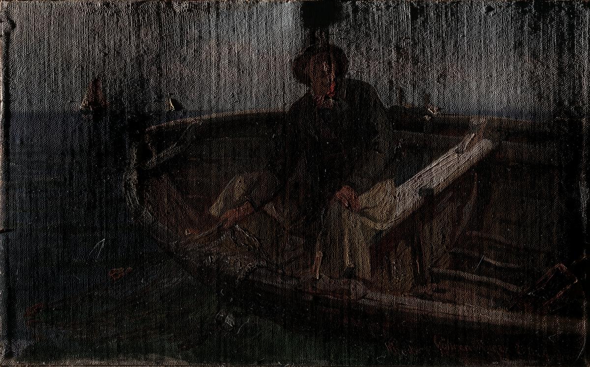 Fisker fra Rügen [Maleri]