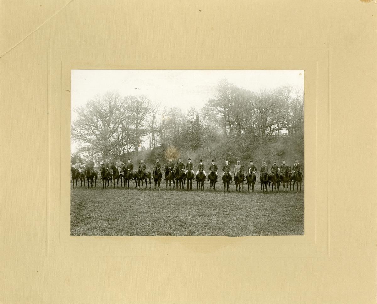 Jakt i Linköping den 3 november 1915.
