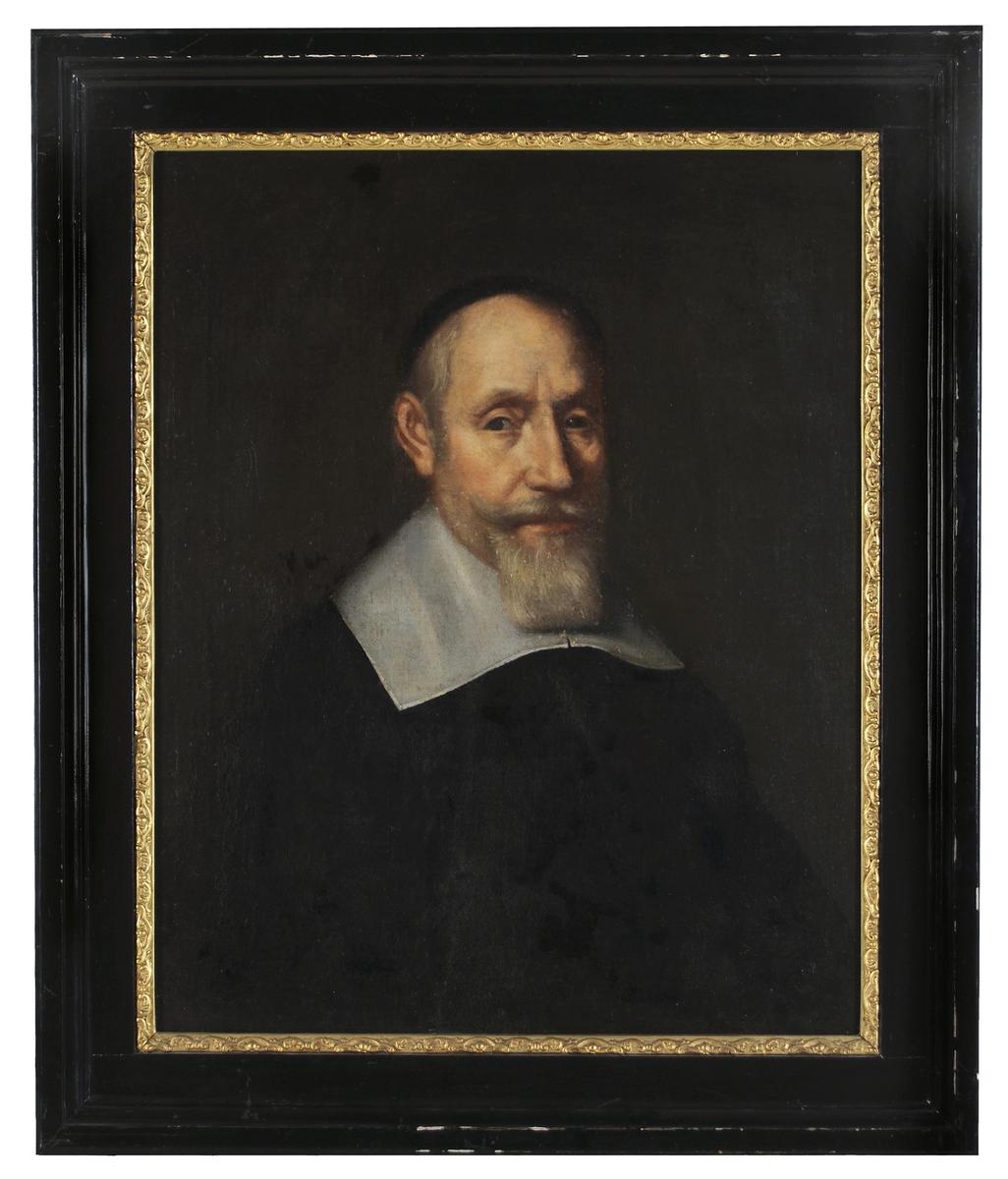 Oljemålning, porträtt av Axel Oxenstierna, okänd konstnär.
