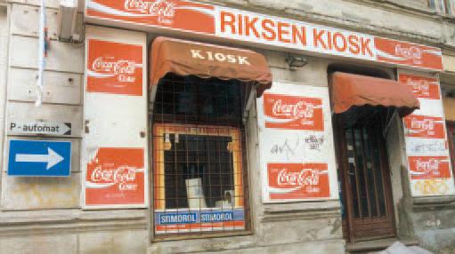 Riksen kiosk i Wessels gate 15
