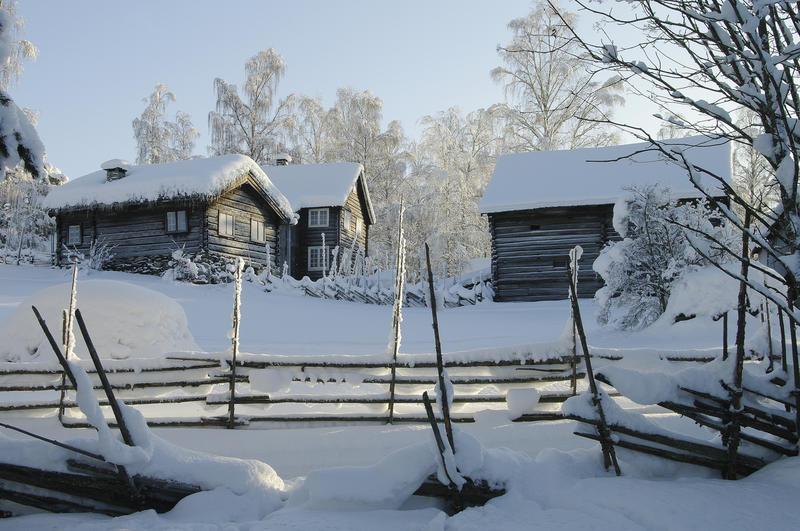 1950-TALET: Rundt 1950 vart museumsområdet betydeleg utvida, og aldri har fleire hus vore flytt til museet enn på 1950-talet. Mellom anna kom åtte hus frå Kvie i Vang og husmannsplassen frå Øvre Frigstad i Vestre Slidre.