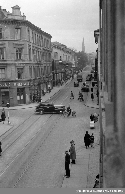 Thorwald Meyers gate. 1947
