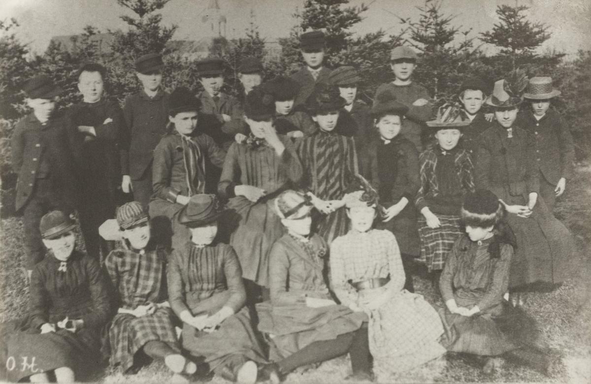 Middelskoleelever i 1891