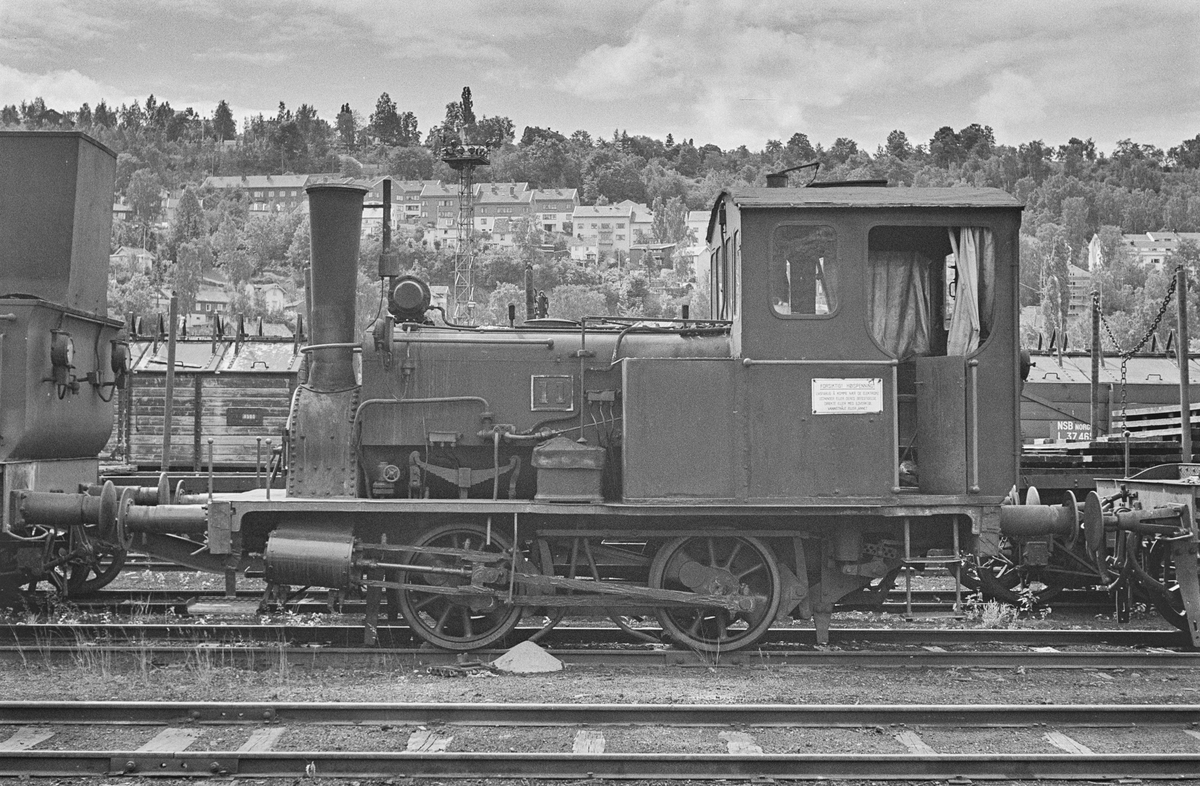 Hensatt damplokomotiv type 7a nr. 11 i Lodalen i Oslo.