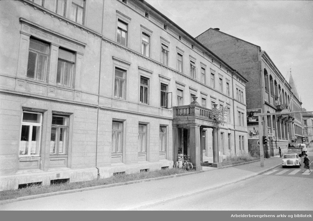 St.Olavs gate 27. Oktober 1978