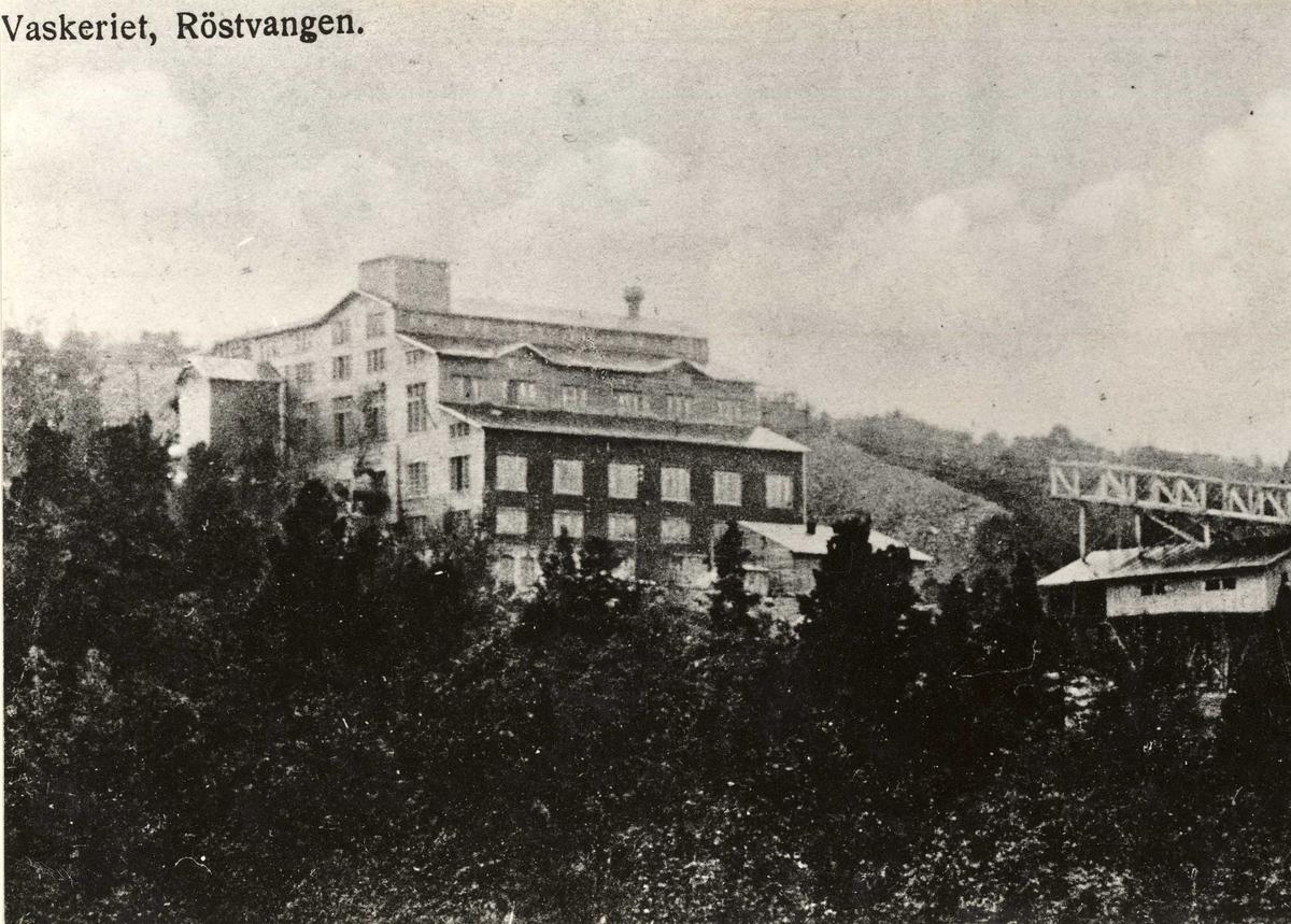 Vaskeriet på Røstvangen - det gamle som brant i påsken 1919