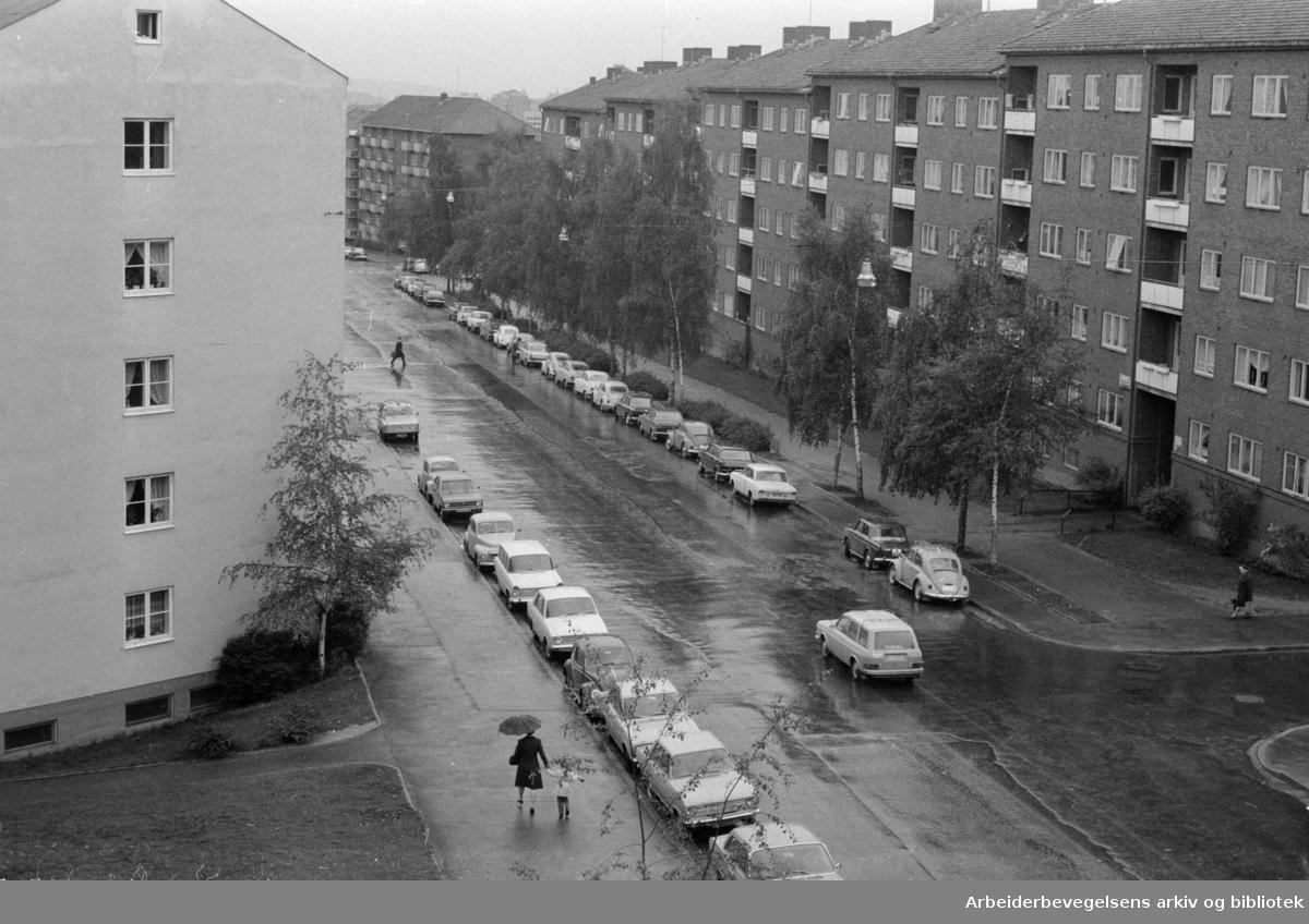 Sars gate.Mai 1972