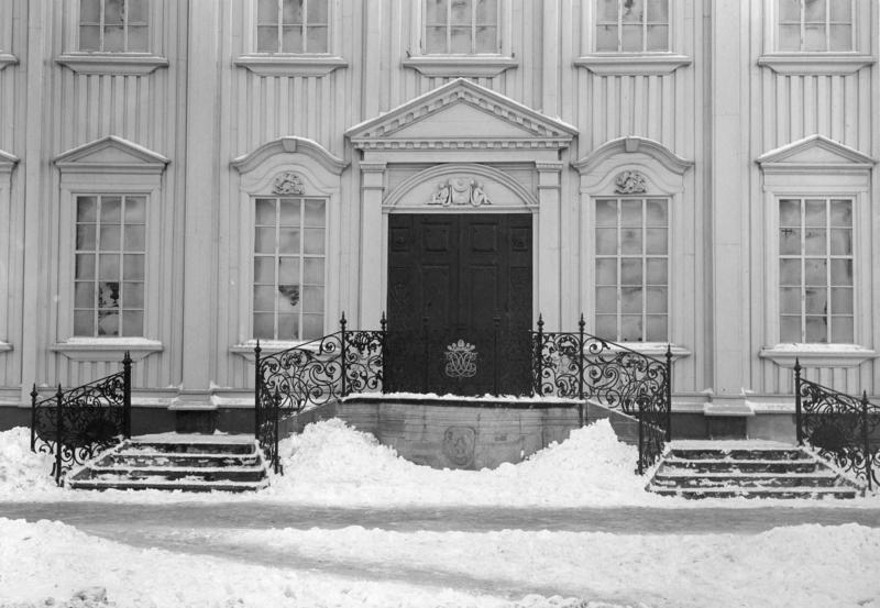Stiftsgården (trappeløp) cirka 1900 (Foto/Photo)