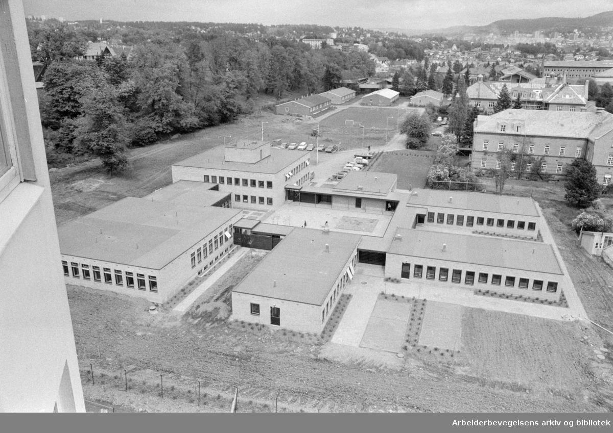 Ullevål sykehus. Barne-psykiatrisk avdeling. Mai 1972
