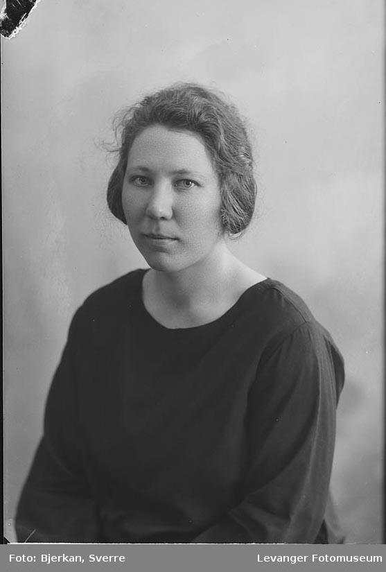 Portrett av Margrethe Storli