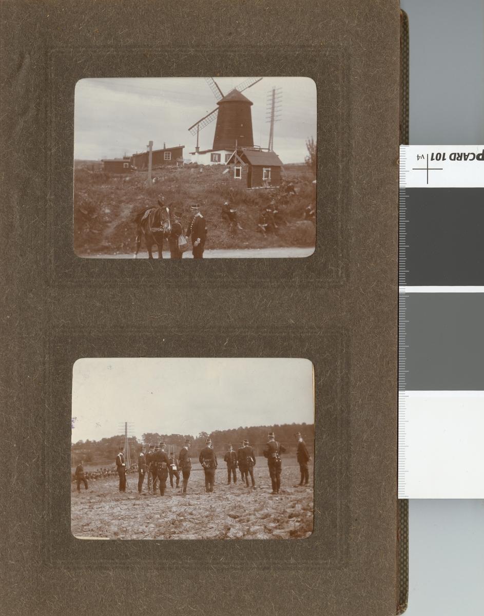 Soldater vid Göta livgarde I 2 på övning.