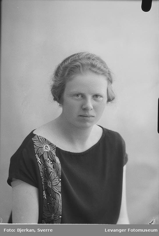 Portrett av Ellen Falstad