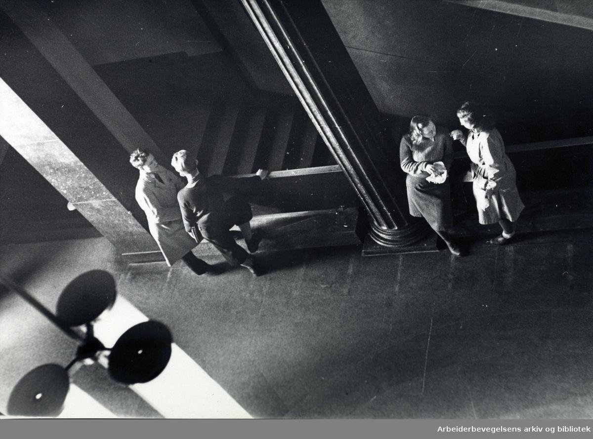 Deichmanske bibliotek, juni 1947.