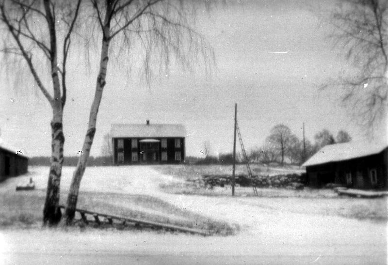 Sörgården i Önneby, uppförd 1850-1860 av Nils Clemetsson.