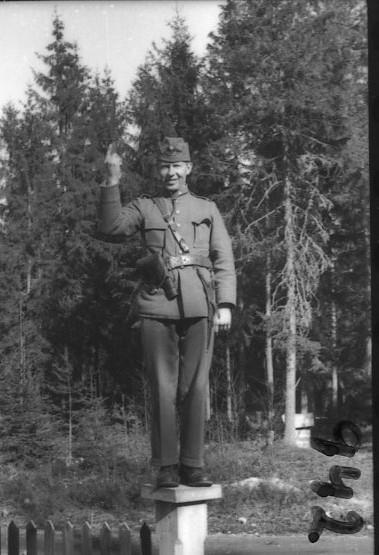 Suneson, styckjunkare, A 6, i trakten av Deje.