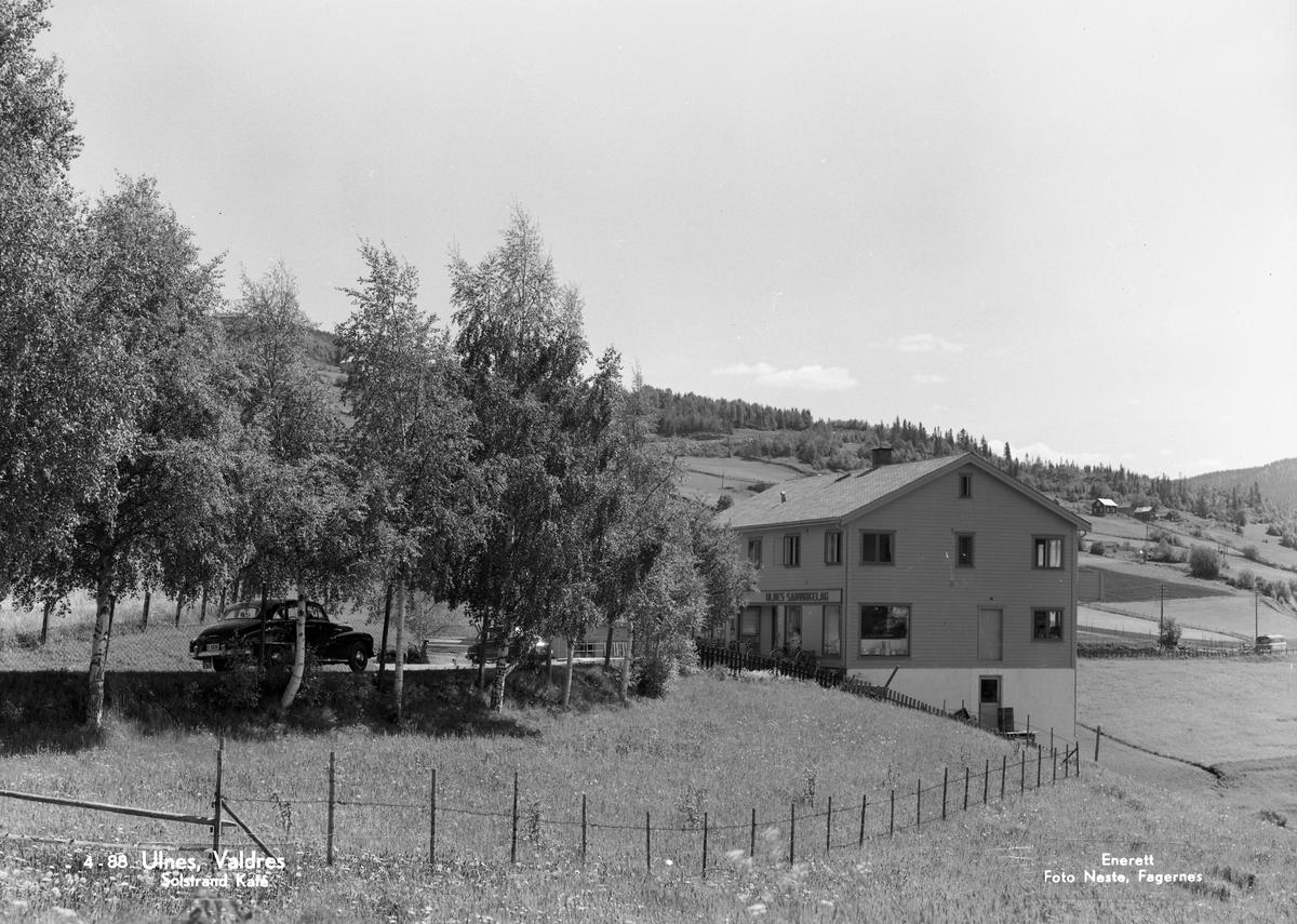 Ulnes samvirkelag og kafe, Nord-Aurdal.