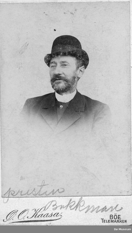 Portrett av presten Bøckmann
