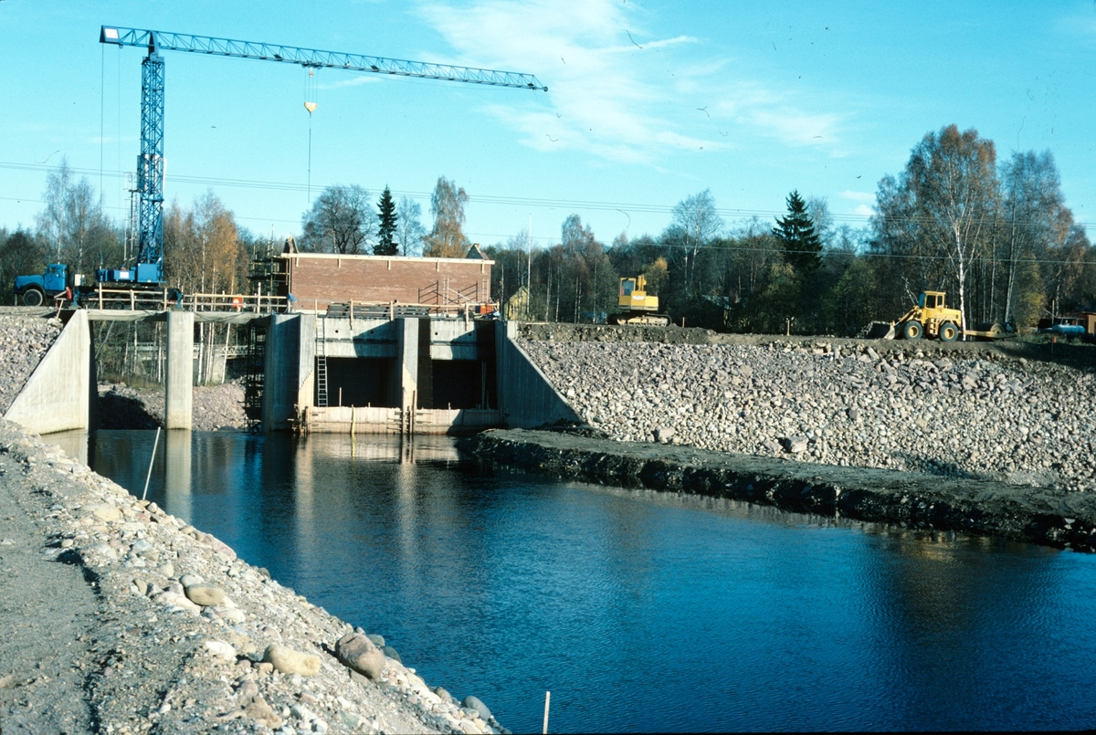 Brobygge i Åbyfors.