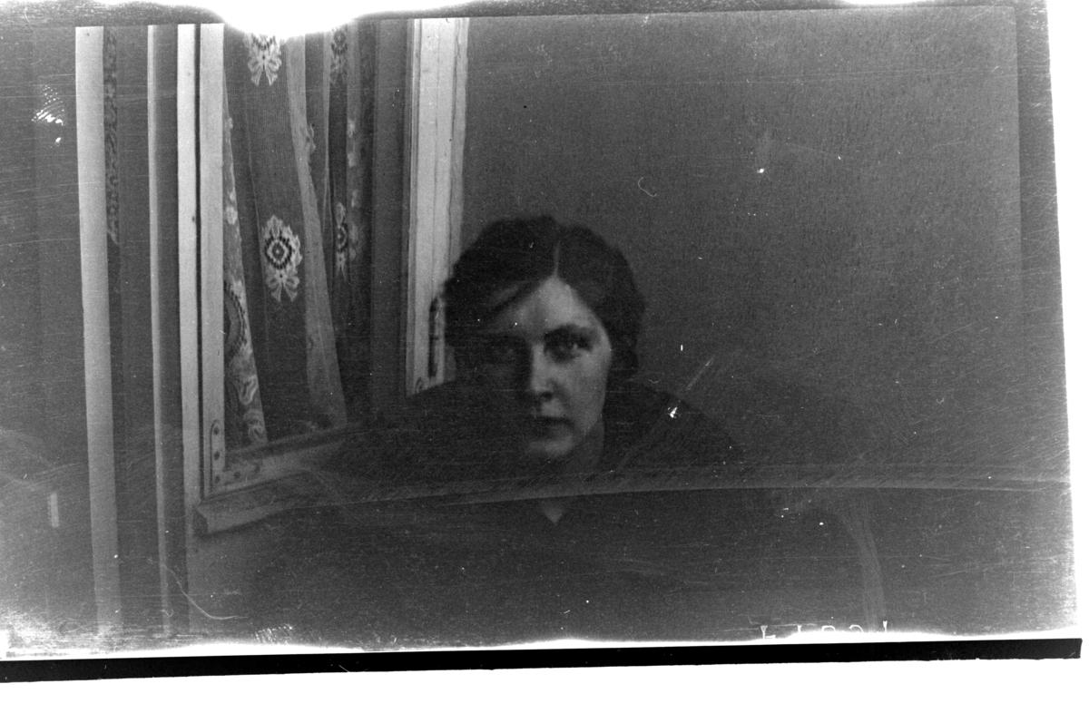 Hilda Sundt, Frederik Stangs gate. Fotografert 1918-1919.