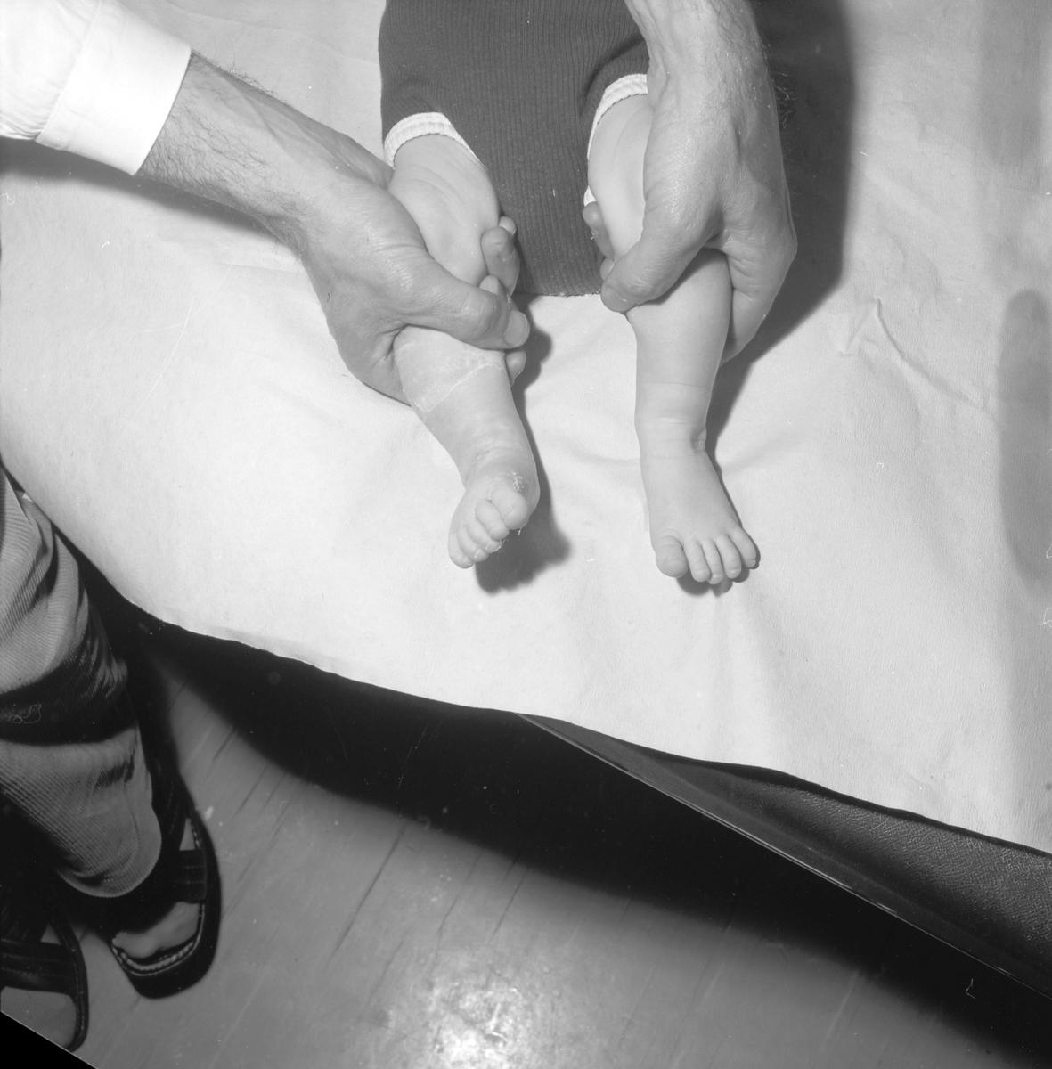 Gävle Lasarett, ortopeden. Den 11 juni 1973