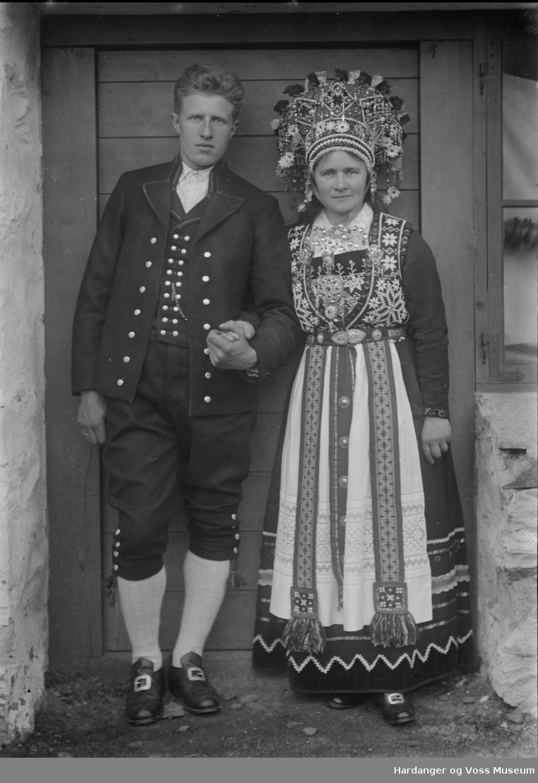 Brudepar, Tordis og Ivar S. Kjerland