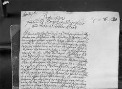 Gamle skrivelser fra Røros Kobberverk