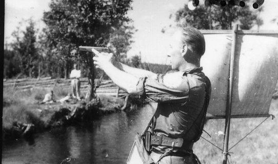 Kohlstedt, sergeant, A 6. Artillerifälttävlan.