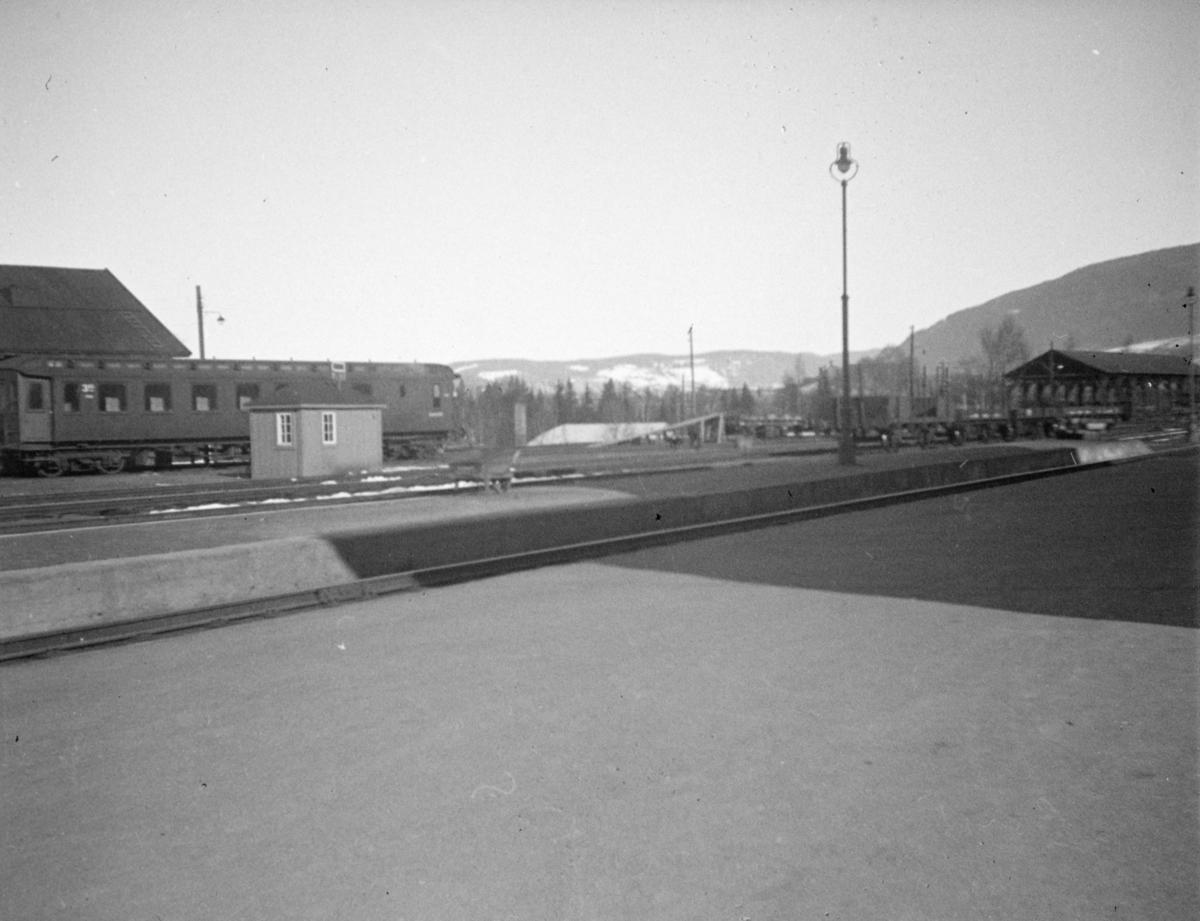 Lillehammer jernbanestasjon.