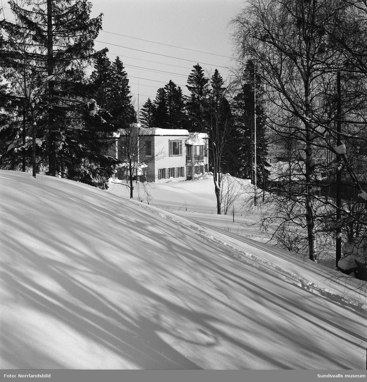 Direktör Berggrens villa på Norrlidsgatan 25.