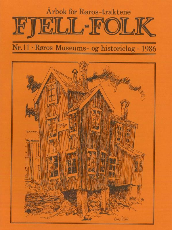 Fjell-Folk 1986. Foto/Photo