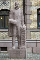 Wilhelm Frimann Koren Christie [Granitt]