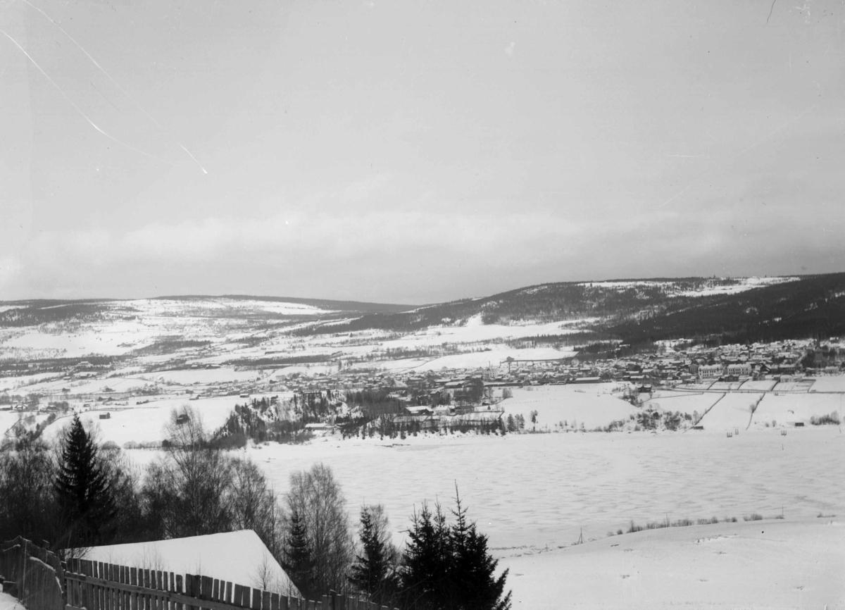Repro, Lillehammer sett fra Vingnes