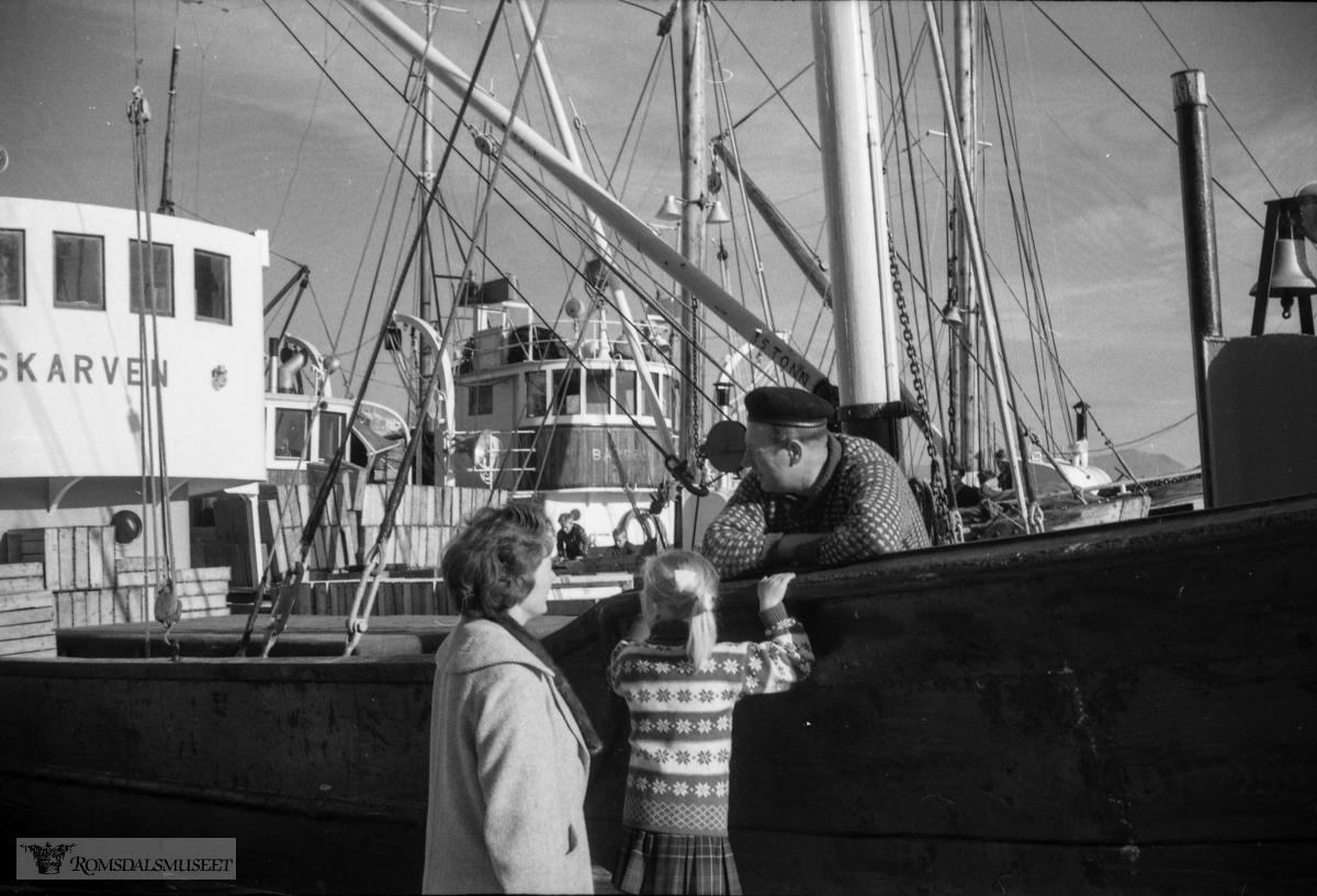 """september-oktober 1962"".""Tur Kristiansund (Nordmørsutstillinga)"""